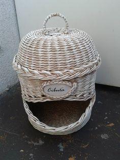 cos suport legume / vegetable deposit basket tutorial