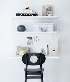 Wall Mounted Desk Leika Hukit Chair