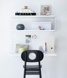 Wall Mounted Desk Leika Hukit Chair