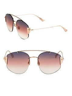 eaf871504591b Dior Stronger 59MM Square Sunglasses