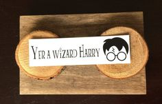 Bookmarks Quotes, Yer A Wizard Harry, Harry Potter Quotes, Stocking Stuffers, Pixie, Card Stock, Notes, Paper, Prints