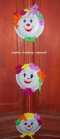 Carving A Turkey, Circus Crafts, Diy Crafts How To Make, Rainbow Paper, Spring Home Decor, Diy Car, Art Activities, Birthday Party Decorations, Garland