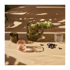 Iittala - Frutta Glass Showcase, Interior Design Elements, Lassi, Outdoor Settings, Colorful Birds, Summer Parties, Issey Miyake, Glass Design, Slovenia