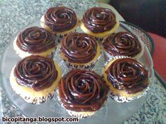 Dianne Nogueira: Receita de Muffins de Laranja com Cobertura de Caf... #food