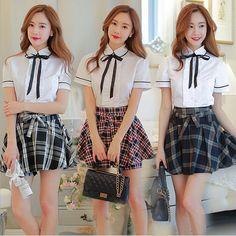 93749164d4743 New Hot Sale Alta Estudante Universitário Uniformes Japão Coreia Do Estilo Britânico  Uniforme Escolar Marinheiro Uniforme