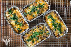 Fit & Healthy Chicken & Rice Enchilada Casserole   Fit Men Cook
