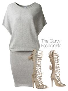 """""""Untitled #246"""" by thecurvyfashionista ❤ liked on Polyvore featuring Leetha and Roberto Cavalli"""
