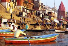 I'd like to see a solar eclipse on the Ganges.