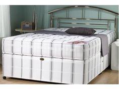 Silent Sleep Orthopaedic King Size Divan Bed