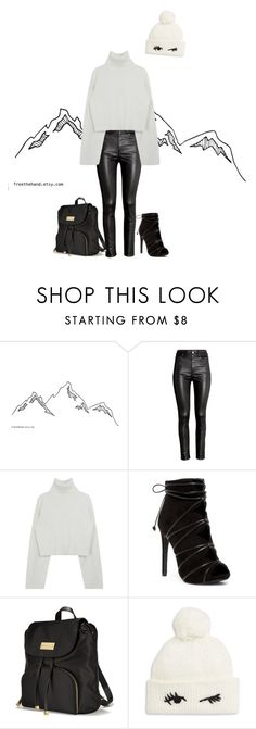 """2017 : winter look"" by abelaz on Polyvore featuring H&M, Victoria's Secret and Kate Spade"