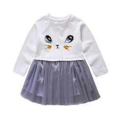 Baby Girls Dress Long-Sleeve White Winter Dresses For Kids Children Clothes For Kids Clothes vestir #Affiliate