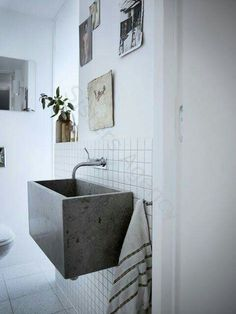 Like this rustic basin.