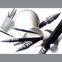 샤프와 종이컵 연구작 #디자인 #입시미술 #미술 #기초디자인 #art #design #미대입시 #그림 #illust #f4f #follow #포항 #나다움 #미술학원