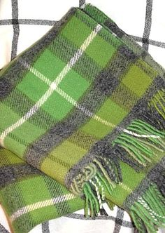 Country Home Accessories & Gift Wool Blankets Throws from Tweedmill Avoca & Bronte Green Blanket, Wool Blanket, Celtic Clothing, Tartan Fashion, Cotton Quilts, Tartan Plaid, Buffalo Plaid, Pattern Making, Shades Of Green