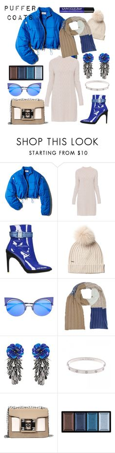 """Puffer Paradise"" by debep ❤ liked on Polyvore featuring 3.1 Phillip Lim, 'S MaxMara, Off-White, Woolrich, Fendi, Forest of Chintz, Clé de Peau Beauté and NYX"