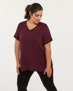 bf8f2ff300fc5 Printed Plus-Size T-Shirt - ActiveZone