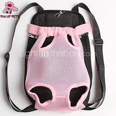 cat dog carrier front backpack pet carrier portable breathable red black blue pink purple orange beige
