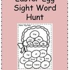 Easter Egg Sight Word Hunt for Kindergarten    Hide plastic eggs with sight words inside around the room