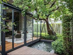 30 Perfect Small Backyard & Garden Design Ideas – Gardenholic - New ideas Backyard Patio, Backyard Landscaping, Outdoor Spaces, Outdoor Living, Outdoor Pool, Exterior Design, Door Design, Landscape Design, Landscape Architecture