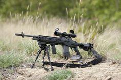 M14 Blackfeather RS DMR