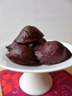 Chocolate Madeleines / Madeleines au chocolat de Jacques Genin : ça, c'est de la bosse !