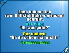 Nie den Humor verloren :) #FreudeamLeben #Humor