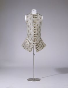 Waistcoat 1760's, Germanisches Nationalmuseum by delores