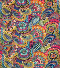 P/K Lifestyles Home Essentials Fabric-FC Sarango Jewel Online Craft Store, Craft Stores, Mandalas Drawing, Design Tattoo, Home Decor Fabric, Joanns Fabric And Crafts, Outdoor Fabric, Fleece Fabric, Canvas Fabric