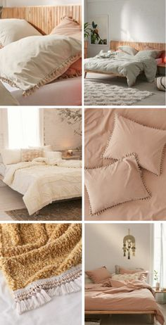 bedding - pastels