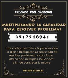 CODIGO GRABOVOI PARA RESOLVER PROBLEMAS - 3917518941