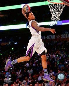 official photos 5411f 253e4 Ben McLemore Slam Dunk Contest 2014 NBA All-Star Game Action Photo Print  (20 x 24)