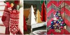 Make every room look as festive as possible with these glittering, shiny, and jolly ideas.