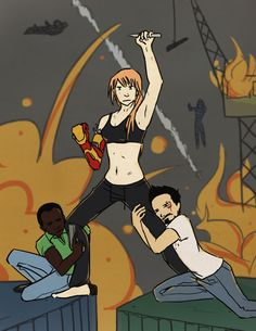 Kickass Pepper Potts (Iron Man by thestormypetrelofcrime Marvel Tony Stark, Marvel Funny, Marvel Memes, Marvel Avengers, Baby Avengers, Marvel Girls, Cute Couple Comics, Couples Comics, Familia Stark