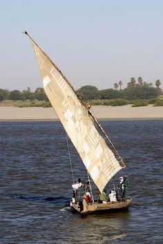 Sudan sailboat