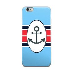 Anchors N' Stripes iPhone Cases