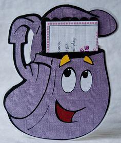Dora the Explorer Invitations by Bloominkards on Etsy, $32.00