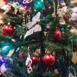 """#Concorso #GreenMarathonTappa 5 #Natale #Green Gabriella: """"Un #Albero bellissimo originale la maggior parte degli addobbi creati da noi:) J love il Natale Green.. basta sperchi riprendiamoci il Mondo!"""""""