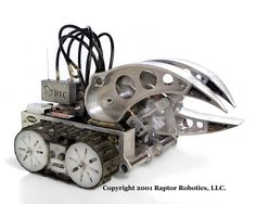 when i first saw battle bots I wondered how big the average person could make one of those