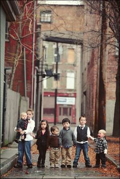 grandkid picture   One day!! I want 3 kids! Sooo, we may end up having this many people haha