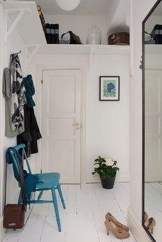 Den funktionelle udnyttelse af rummet under loftet i gangen