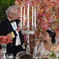 Wedding Dinner: Prince Carl Philip and Sofia Hellqvist's Royal Wedding