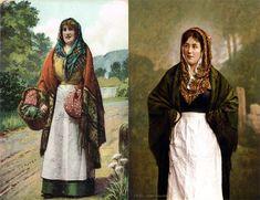 Traditional Irish Clothing, Traditional Outfits, Celtic Clothing, Folk Clothing, Irish Fashion, Fashion History, Irish Warrior, Earl Moran, Irish Design