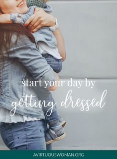 Dressing for the job of homemaking is an important part of being effective and productive at home! So, the goal is to start your day by getting dressed! Capsule Wardrobe Mom, Wardrobe Basics, Mom Wardrobe, Easy Mom Fashion, Womens Fashion For Work, Mom Style Fall, Mommy Style, Friend Outfits, Mom Outfits