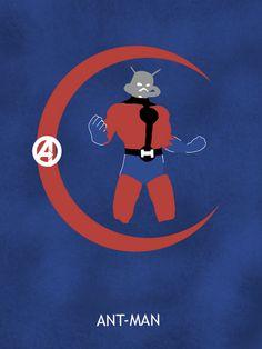 Ant-Man by Matthew Saxon