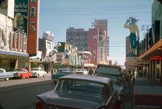 Fremont St., Las Vegas — 1961