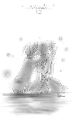 Ciel kisses lizzy