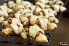Our Chocolate Raspberry Rugelach and Cinnamon Walnut Rugelach bring a simple pastry dough and crave-worthy fillings together to create irresistible cookies. Rugelach Cookies, Rugelach Recipe, Raspberry Sauce, Chocolate Cheese, Jewish Recipes, Cinnamon Cream Cheeses, Strawberry Recipes, Pistachio, Quick Easy Meals