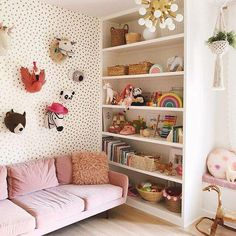 65 Clever Kids Bedroom Organization And Tips Ideas Girl Room, Girls Bedroom, Room Boys, Kid Bedrooms, Bedroom Furniture, Bedroom Decor, Playroom Decor, Bedroom Toys, Playroom Ideas