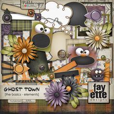 Ghost Town - The Basics Elements By Fayette Designs