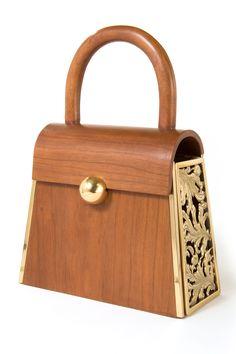 The Canova Wooden Bag Handbags On Sale, Luxury Handbags, Ladies Handbags, Travel Handbags, Travel Purse, Handbags Online, Vintage Purses, Vintage Bags, My Bags